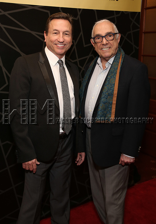 "Peter Pileski and Bob Avian attends the New York City Center Celebrates 75 Years with a Gala Performance of ""A Chorus Line"" at the City Center on November 14, 2018 in New York City."