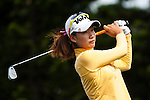 TAOYUAN, TAIWAN - OCTOBER 28:  Chella Choi of South Korea tees off on the 2nd hole during the day four of the Sunrise LPGA Taiwan Championship at the Sunrise Golf Course on October 28, 2012 in Taoyuan, Taiwan.  Photo by Victor Fraile / The Power of Sport Images