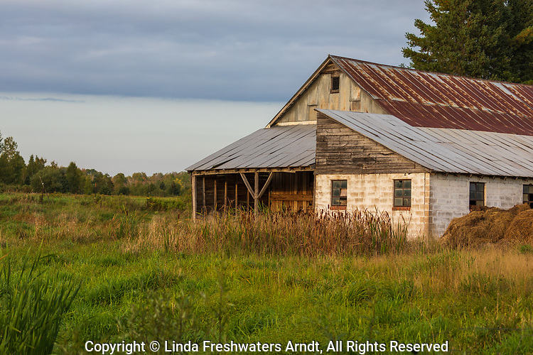 Hobby farm in northern Wisconsin.