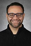 Jason Majchrzak, Academic Advisor, Driehaus College of Business, DePaul University, is pictured in a studio portrait, Nov. 14, 2018. (DePaul University/Jeff Carrion)