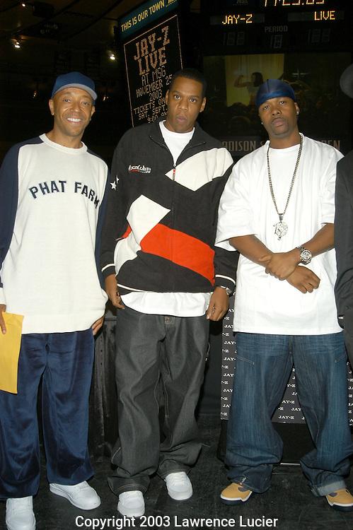 Russell Simmons, Jay-Z, Memphis Bleek