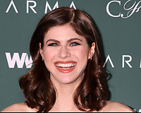 LOS ANGELES - FEB 20:  Alexandra Daddario at the CFDA Variety and WWD Runway to Red Carpet at Chateau Marmont Hotel on February 20, 2018 in West Hollywood, CA
