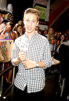 NEW YORK, NY - August 03, 2012: Ryan Beatty at M&amp;M World Times Square to meet fans in New York City. &copy; RW/MediaPunch Inc. /NortePhto.com<br />