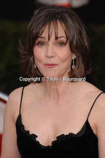 Sally Fields  arriving at the SAG Awards 2008 at the Shrine Auditorium in Los Angeles.<br /> <br /> headshot<br /> smile