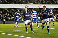 GOAL - Steve Morison of Millwall opens the scoring during the Sky Bet Championship match between Millwall and Queens Park Rangers at The Den, London, England on 29 December 2017. Photo by Carlton Myrie / PRiME Media Images.