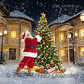 Isabella, NAPKINS, SERVIETTEN, SERVILLETAS, Christmas Santa, Snowman, Weihnachtsmänner, Schneemänner, Papá Noel, muñecos de nieve, paintings+++++,ITKE533304S-L,#sv#,#x#