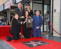 Lynda Carter, Les Moonves, Patty Jenkins, Donelle Dadigan, Leron Gubler at the Hollywood Walk of Fame Star Ceremony honoring TV's &quot;Wonder Woman&quot; star Lynda Carter on Hollywood Boulevard, Los Angeles, USA 03 April 2018<br /> Picture: Paul Smith/Featureflash/SilverHub 0208 004 5359 sales@silverhubmedia.com