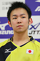 Table Tennis : Japan national team training session for London Olympic Games 2012