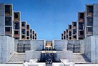 Salk Institute, La Jolla. Architect Louis Kahn. Founded in 1960 by Jonas Salk.