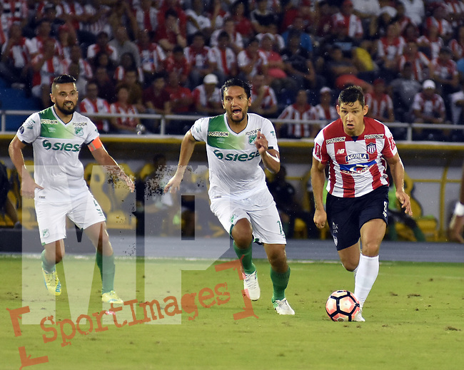 Junior igualó como local 1-1 (2-2 en el global) ante Deportivo Cali. Dieciseisavos de final de la Conmebol Sudamericana. Junior avanzó por penales.