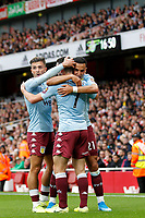 GOAL - John McGinn of Aston Villa is the scorer during the Premier League match between Arsenal and Aston Villa at the Emirates Stadium, London, England on 22 September 2019. Photo by Carlton Myrie / PRiME Media Images.
