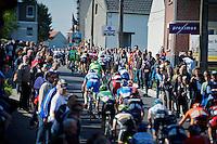 peloton up the Schavei<br /> <br /> Brabantse Pijl 2014
