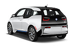 Car pictures of rear three quarter view of 2017 BMW i3 Range-Extender 5 Door Hatchback Angular Rear