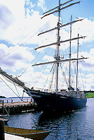 The SV Concordia Tall Ship Sailing School / Class Afloat, Lunenburg, NS, Nova Scotia, Canada (sunk off the coast of Brazil on Feb. 2010)