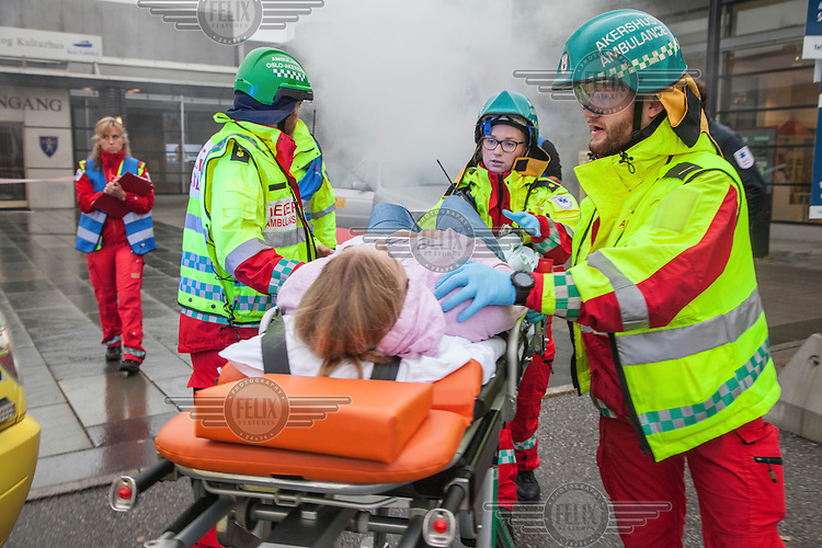 EMS National Championship for paramedics/ambulance workers.<br /> <br /> &copy;Fredrik Naumann/Felix Features