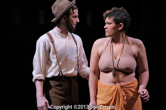 "UMASS production of ""Venus""..©2013 Jon Crispin.........................."