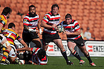 Grant Henson charges from the back of a ruck. ITM Cup rugby game between Waikato and Counties Manukau, played at Waikato Stadium, Hamilton on Saturday 28th August 2010..Waikato won 39 - 3.