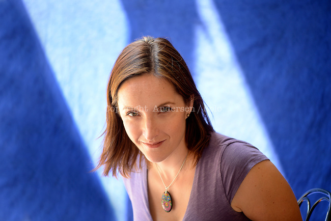 Rebecca Makkai, American writer, Paris june 2012.