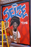 JUN 07 Murals Supporting Black Lives Matter Appear In The Washington D.C. Area