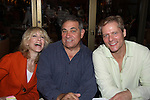 One Life To Live's Judith Light & Dan Lauria (both were on OLTL and now back together in Lombardi on Broadway) pose with Guiding Light's David Andrew MacDonald (Mama Mia on Broadway) at the autograph table during The 24th Annual Broadway Flea Market & Grand Auction to benefit Broadway Cares/Equity Fight Aids on September 26, 2010 in Shubert Alley, New York City, New York. (Photo by Sue Coflin/Max Photos)