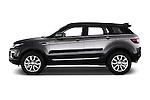 Car Driver side profile view of a 2016 Land Rover Range Rover Evoque HSE 5 Door Suv Side View