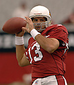 KURT WARNER, of the Arizona Cardinals, in action against the Kansas CIty Chiefs on October 8, 2006 in Phoenix, AZ...Chiefs win 23-20..David Durochik / SportPics.