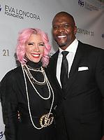 15 November 2019 - Beverly Hills, California - Terry Crews, Rebecca King-Crews. The Eva Longoria Foundation Gala held at The Four Seasons Hotel. Photo Credit: FS/AdMedia