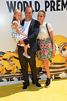 Trey Parker, Boogie Tillmon &amp; Betty Parker at the world premiere for &quot;Despicable Me 3&quot; at the Shrine Auditorium, Los Angeles, USA 24 June  2017<br /> Picture: Paul Smith/Featureflash/SilverHub 0208 004 5359 sales@silverhubmedia.com