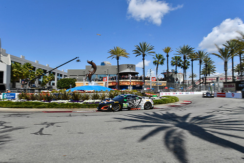 2017 IMSA WeatherTech SportsCar Championship<br /> BUBBA burger Sports Car Grand Prix at Long Beach<br /> Streets of Long Beach, CA USA<br /> Saturday 8 April 2017<br /> 86, Acura, Acura NSX, GTD, Oswaldo Negri Jr., Jeff Segal<br /> World Copyright: Richard Dole/LAT Images<br /> ref: Digital Image RD_LB17_307