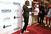LOS ANGELES, CA - NOVEMBER 13: Usher and Jermaine Dupri at People You May Know at The Pacific Theatre at The Grove in Los Angeles, California on November 13, 2017. Credit: Robin Lori/MediaPunch