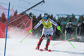 17th March 2018, Àvet Slope, Soldeu, Andorra; FIS Alpine Ski European Cup, Slalom Ladies Finals; 5 SPORER Marie Therese   during the Giant Slalom Final