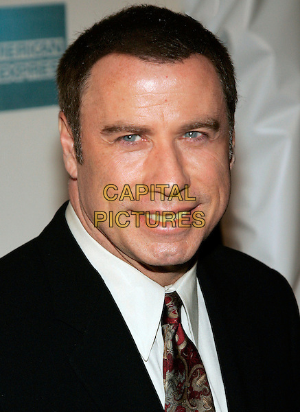 "JOHN TRAVOLTA.Premiere of ""Lonely Hearts"" at the 5th Annual Tribeca Film Festival at Tribeca Performing Arts Center, New York, NY, USA..April 30th, 2006.Photo: Jackson Lee/Admedia/Capital Pictures.Ref: JL/ADM.headshot portrait.www.capitalpictures.com.sales@capitalpictures.com.© Capital Pictures."