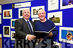 Press Photographers Association of Ireland [PPAI] Photojournalism Exhibition was opened by Mayor of Tralee Cllr Norma Foley at Tralee Library on Monday and will run till Wednesday 18th October. Pictured Ray McManus and Con