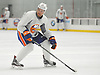 Devon Toews #46, defenseman, skates during New York Islanders Prospect Mini Camp at Northwell Health Ice Center in East Meadow, NY on Wednesday, June 28, 2017.