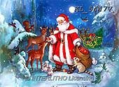 CHRISTMAS SANTA, SNOWMAN, WEIHNACHTSMÄNNER, SCHNEEMÄNNER, PAPÁ NOEL, MUÑECOS DE NIEVE, paintings+++++,KL5447V,#X#