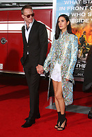08 October 2017 - Los Angeles, California - Paul Bettany and wife Jennifer Connelly. &ldquo;Only The Brave&rdquo; Premiere held at the Regency Village Theatre in Los Angeles. <br /> CAP/ADM<br /> &copy;ADM/Capital Pictures