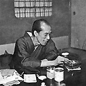 Undated - Sanjugo Naoki (1865-1951) was a novelist in Taisho and Showa period Japan. His name was given to an award for popular fiction, the Naoki Prize. (Photo by Kingendai Photo Library/AFLO)