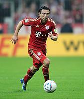 Fussball DFB Pokal:  Saison   2011/2012  2. Runde  26.10.2011 FC Bayern Muenchen - FC Ingolstadt 04 Danijel Pranjic (FC Bayern Muenchen)