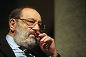 03 mar 2006 Milan, 2006 General Election, meeting  of Libertà e Giustizia (Freedom and Justice); Umberto Eco, writer.