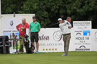 Cormac Sharvin (IRL) on the 10th tee during Round 1 of the Bridgestone Challenge 2017 at the Luton Hoo Hotel Golf &amp; Spa, Luton, Bedfordshire, England. 07/09/2017<br /> Picture: Golffile | Thos Caffrey<br /> <br /> <br /> All photo usage must carry mandatory copyright credit     (&copy; Golffile | Thos Caffrey)