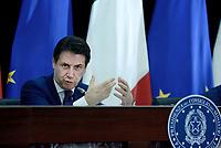 Governo, conferenza stampa di fine anno, Giuseppe Conte