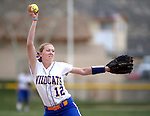 Wildcats' Dakota Robinson pitches against Snow College at Edmonds Sports Complex in Carson City, Nev., on Friday, March 20, 2015. <br /> Photo by Cathleen Allison/Nevada Photo Source