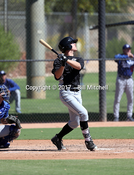 Blake Rutherford - 2017 AIL White Sox (Bill Mitchell)