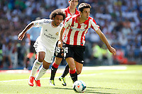 Real Madrid's Marcelo and and Athletic Club's Susaeta during La Liga Match. September 01, 2013. (ALTERPHOTOS/Caro Marin) <br /> Football Calcio 2013/2014<br /> La Liga Spagna<br /> Foto Alterphotos / Insidefoto <br /> ITALY ONLY