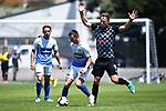 NELSON, NEW ZEALAND - Tasman Utd v Hawkes Bay. Trafalgar Park, Nelson, New Zealand. Sunday 2 December 2018. (Photo by Chris Symes/Shuttersport Limited)