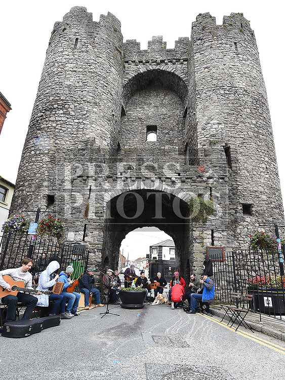 Music at the Gate Saturday 7th October 2017. Photo:Colin Bell/pressphotos.ie