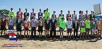 Varsity Boys White Race Medalists