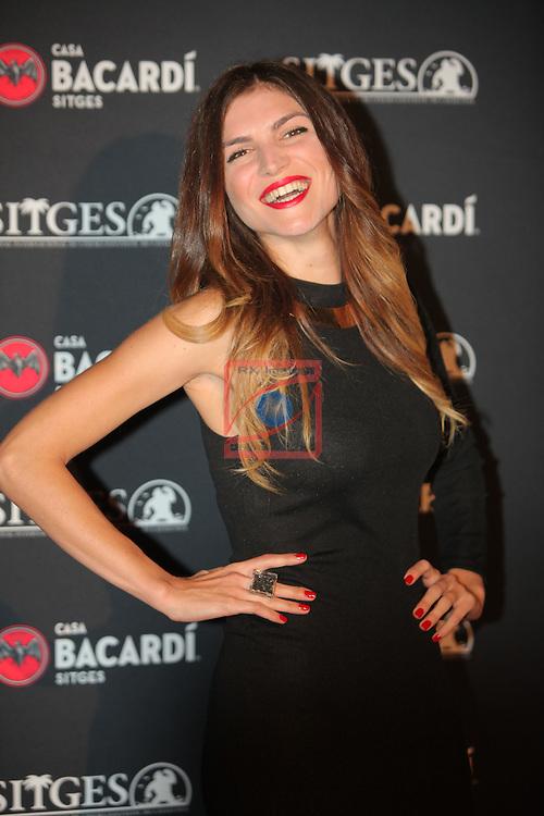 Premi Bacardi Sitges a l'Esperit Indomable 2016.<br /> Carlotta Morelli.