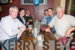 50th Birthday : Sean O'Sullivan, Ballylongford celebrating his 50th birthday with family & friends at McMunn's Bar & Restaurant, Ballybunion on Saturday night last. L-R : Sean, Mayra, Tim, Magaret Sheamus O'Sullivan & John Woods.
