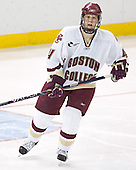 Mike Brennan - The Boston College Eagles and University of New Hampshire earned a 3-3 tie on Thursday, March 2, 2006, on Senior Night at Kelley Rink at Conte Forum in Chestnut Hill, MA.  Boston College honored its three seniors, captain Peter Harrold and alternate captains Chris Collins and Stephen Gionta, before the game.